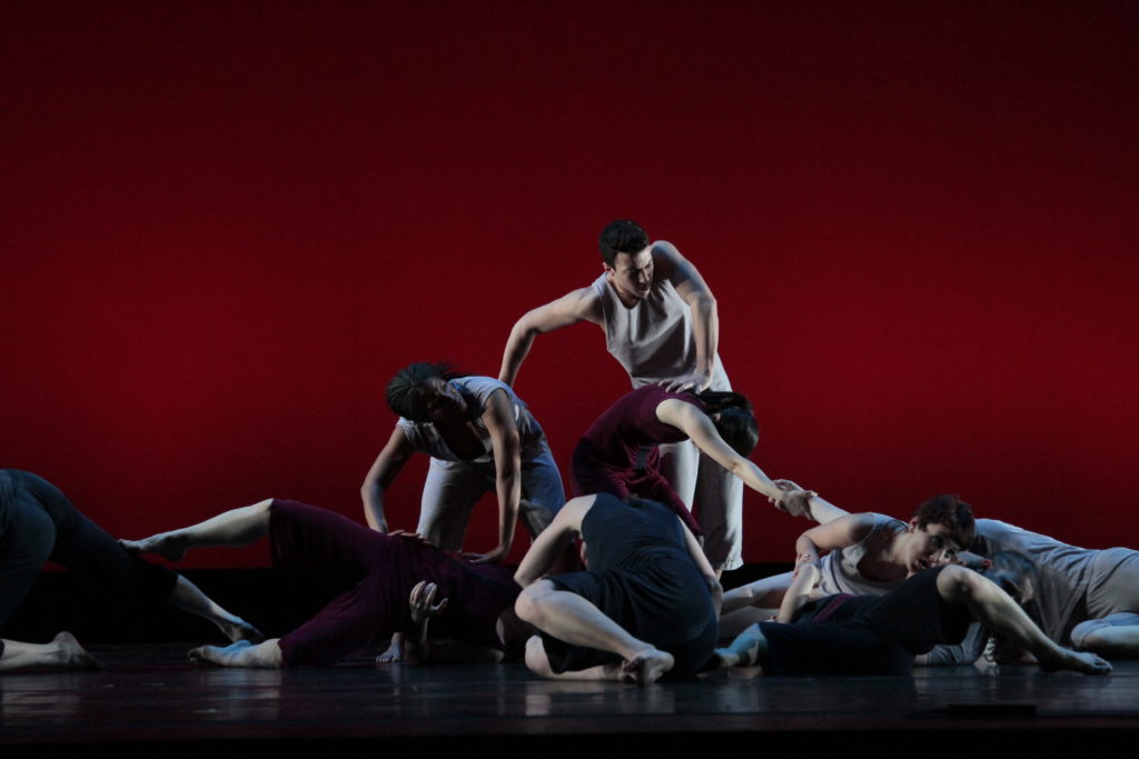 """Dances: """"Cage Meets """"Bojangles"""" by Anita Feldman """"Steps in the Street"""" by Martha Graham """"That Which is Revealed"""" by Stormy Brandenberger """"It was All A Dream"""" by Devin Pullins """"Into Sunlight"""" by Robin Becker"""